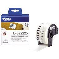 Brother DK 22225 - Papierové štítky