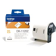 Brother DK 11202 - Papierové štítky