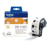 Brother DK 11221 - Papierové štítky