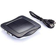 XD Design Window solar charger - strieborná - Solárna nabíjačka