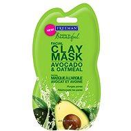 Freeman Pleťová maska - avokádo/ovos 15 ml - Pleťový peeling