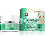 EVELINE COSMETICS Facemed Purifying And Smoothing Mask Green Clay 50 ml