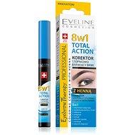 EVELINE COSMETICS Eyebrow Th. Professional Corrector With Henna 8in1 10 ml