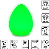 Colour changing Egg (Large) - Dekoratívne osvetlenie