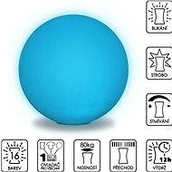 Colour changing Sphere 50cm - Dekoratívne osvetlenie