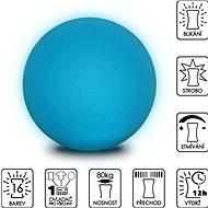 Colour changing Sphere 40cm - Dekoratívne osvetlenie