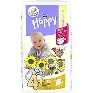 BELLA HAPPY veľ. 4+ Maxi Plus (62 ks) - Detské plienky