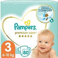 PAMPERS Premium Care vel. 3 Midi (80 ks) - Detské plienky