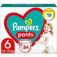 PAMPERS Pants veľ 6 Extra Large (88 ks) - mesačná zásoba - Detské plienkové nohavičky