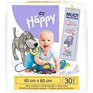 BELLA HAPPY Baby Detské podložky 60x60 cm, 30 ks - Podložka na prebalovanie