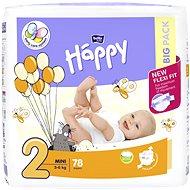 BELLA Baby Happy veľ. 2 Mini (78 ks) - Detské plienky