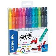 PILOT Frixion Colors 0.39 - 0.7mm, sada 12-ti barev - Popisovač