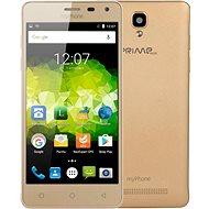MyPhone Prime Plus zlatý - Mobilný telefón