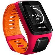 TomTom Runner 3 (S) ružovo-oranžový - Športtester