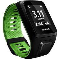 TomTom GPS hodinky Runner 3 Cardio (L) čierno-zelené - Sporttester