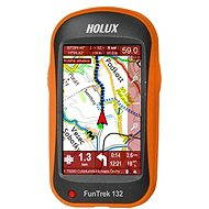 Holux Funtrek 132 mapy CZ / SK + TM CZ 25 - GPS cyklocomputer