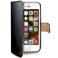 CELLY WALLY185 čierne - Puzdro na mobilný telefón