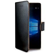 CELLY WALLY523 čierne - Puzdro na mobilný telefón