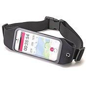 CELLY RUNBVIEWXLBK čierne - Puzdro na mobilný telefón