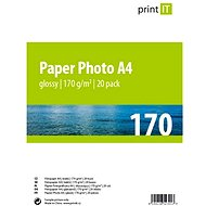 PRINT IT Paper Photo Glossy A4 20 listov - Fotopapier