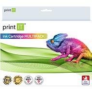 PRINT IT za Canon pack PGI-520Bk + CLI-521C/M/Y/Bk - Alternatívny atrament