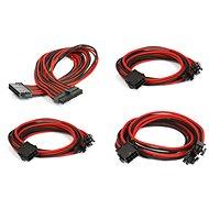 Phanteks Extension Cable Set - Černá/Červená