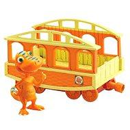 Dinosaur Train - Braček s vagóniky - Herná súprava