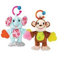 Munchkin – Plyšový maznáčik s hryzátkami Opička - Plyšová hračka
