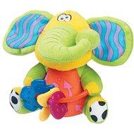 Playgro Šuštiaci sloník s hryzátkami - Plyšová hračka