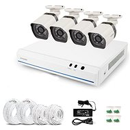 ZMODO 4-kanálový rekordér NVR + 4x IR IP kamera s PoE 2.Gen - Kamerový systém
