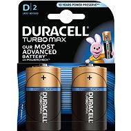 Duracell Turbo Max D 2 ks - Batéria