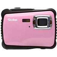 Rollei Sportsline 64 Ružovo-čierny + brašna zdarma - Digitálny fotoaparát