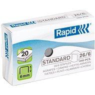 RAPID Standard 26/6 - Drôtiky do zošívačky