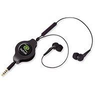 Retraky Earbuds iPhone Controls čierna - Slúchadlá
