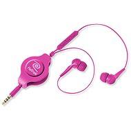 Retraky Earbuds iPhone Controls ružová - Slúchadlá