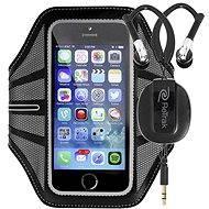 Retraky Sport Armband Large čierne + športové slúchadlá do uší - Puzdro na mobilný telefón