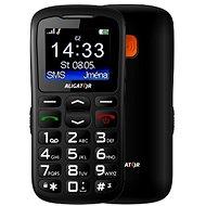 Aligator A430 Senior Black Grey + Stolová nabíjačka - Mobilný telefón