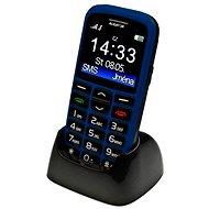 Aligator A680 Senior Modrý + Stolná nabíjačka - Mobilný telefón