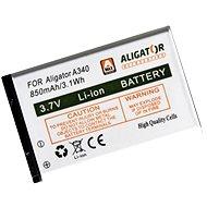 Akumulátor pre Aligator A340 - Batéria