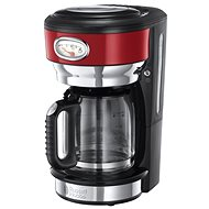 Russell Hobbs Retro Red Glass C/Maker 21700-56 - Kávovar
