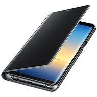 Samsung EF-ZN950C Cear View Cover pre Galaxy Note8 čierne - Puzdro na mobilný telefón