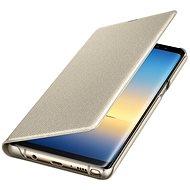 Samsung EF-NN950P LED View na Galaxy Note 8, zlaté - Puzdro na mobilný telefón
