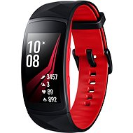 Samsung Gear Fit2 Pro Black Red - Smart hodinky