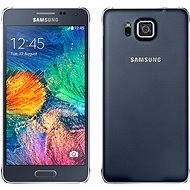 Samsung Galaxy Alpha (SM-G850F) Charcoal Black - Mobilný telefón
