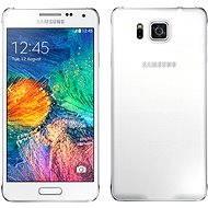 Samsung Galaxy Alpha (SM-G850F) Dazzling White - Mobilný telefón