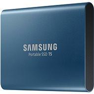 Samsung SSD T5 250 GB modrý - Externý disk