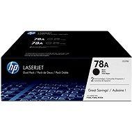 HP CE278AD č. 78A dual pack - Toner