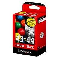 LEXMARK 80D2966 č. 43 + 44 - Cartridge