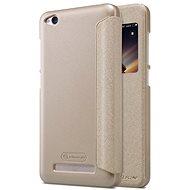 Nillkin Sparkle S-View Gold pro Xiaomi Redmi 4A - Puzdro na mobilný telefón