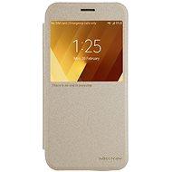 Nillkin Sparkle S-View Gold pro Samsung A320 Galaxy A3 2017 - Puzdro na mobilný telefón